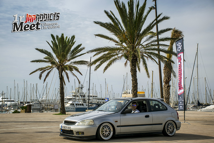Civic EK gris